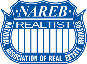 nareb logo blue and white